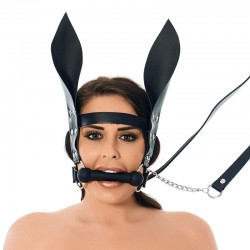 Horsebit Mouth Gag With Reins And Ears